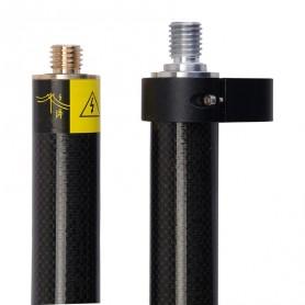 STGCP20 Canne GPS fibre de carbone 2m